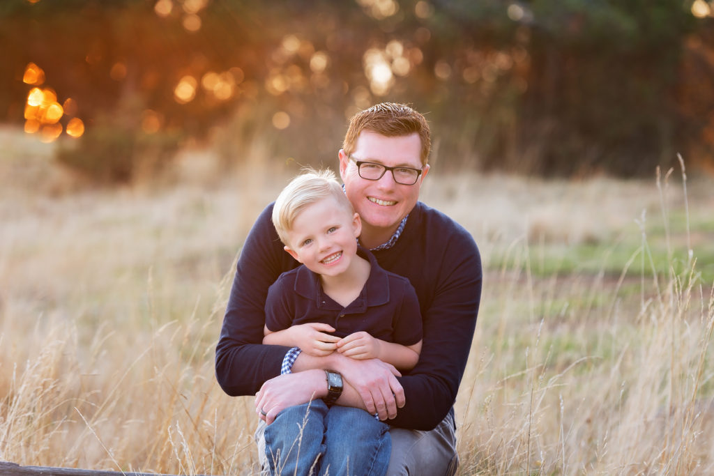 Father and son outdoor photo ideas