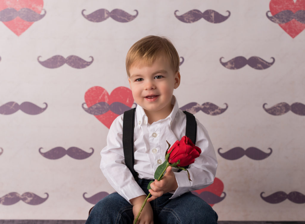 baby boy photos with rose