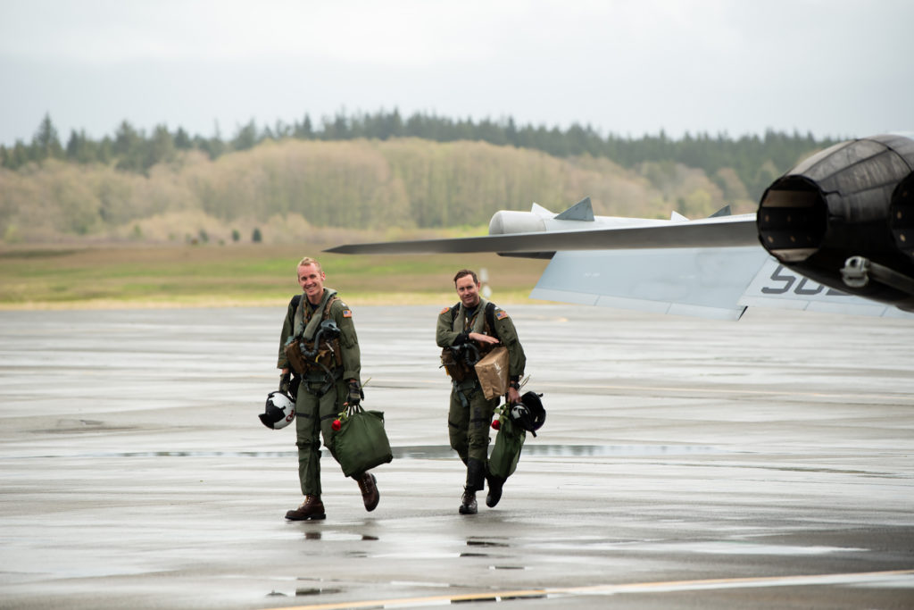 NAS Whidbey homecoming photographs