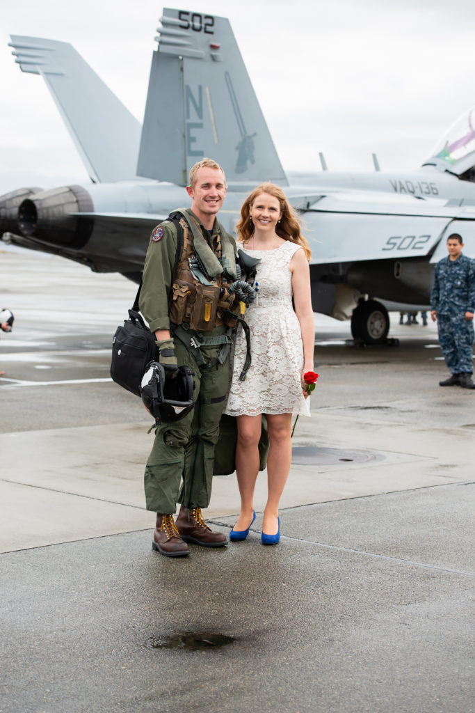 military homecoming whidbey Island