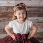 toddler studio portraits