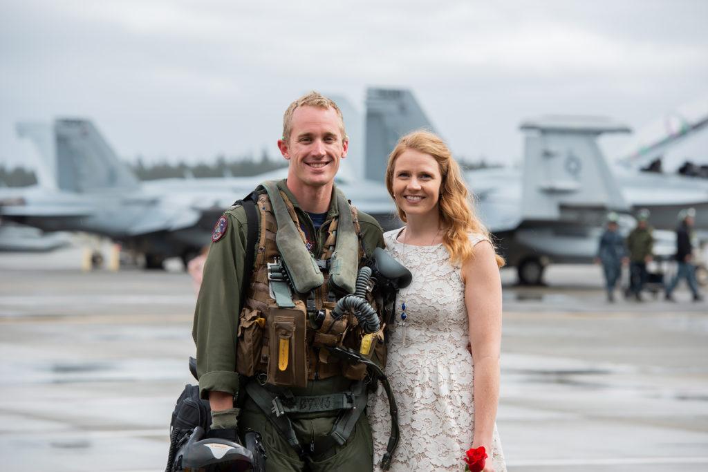 anacortes photographer military homecoming