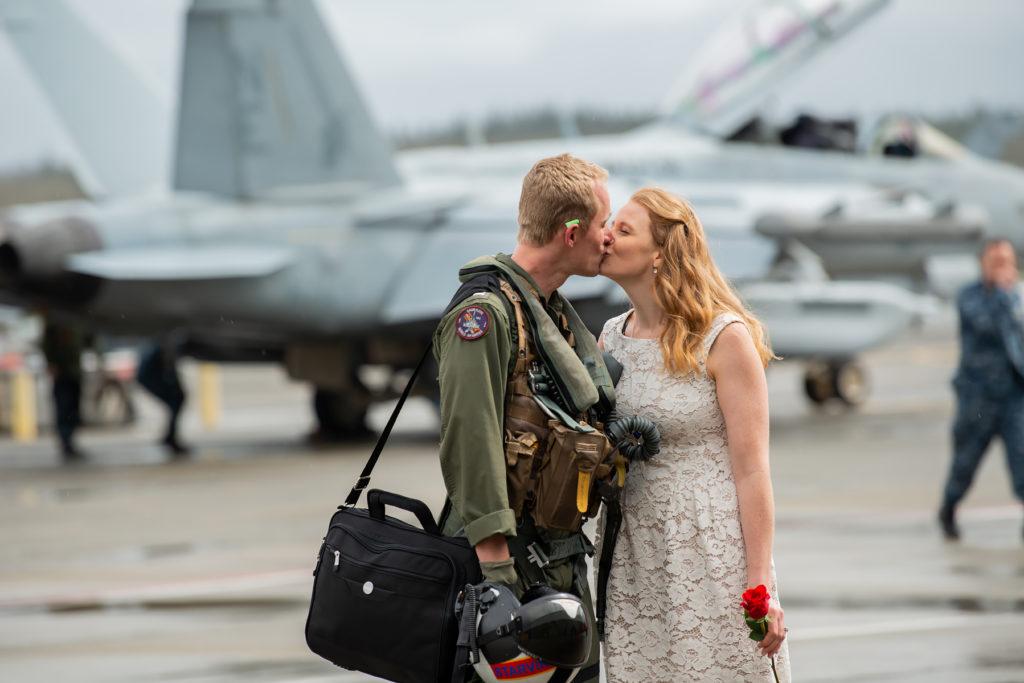 military homecoming Oak Harbor